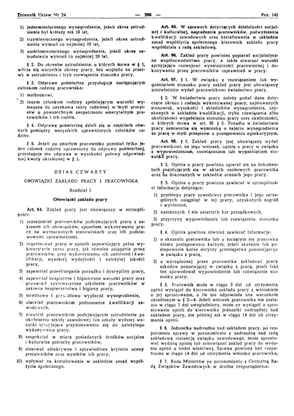 Kodeks Pracy 1974, strona 10