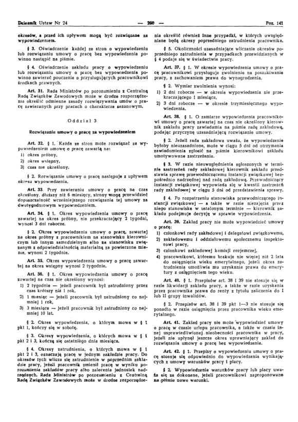 Kodeks Pracy 1974, strona 4