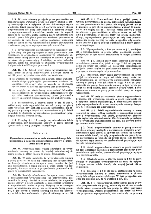 Kodeks Pracy 1974, strona 5