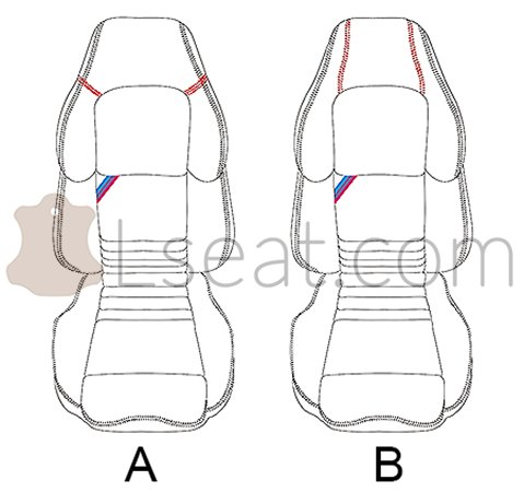 Auto Leather Seat Replacement Auto Seat Stitching Wiring