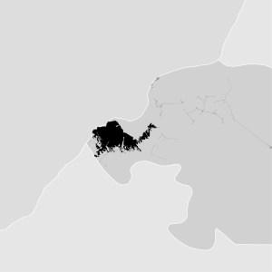 Kinshasa, Congo DRC - density map