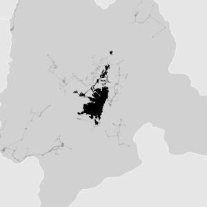 Bogotá, Colombia - density map