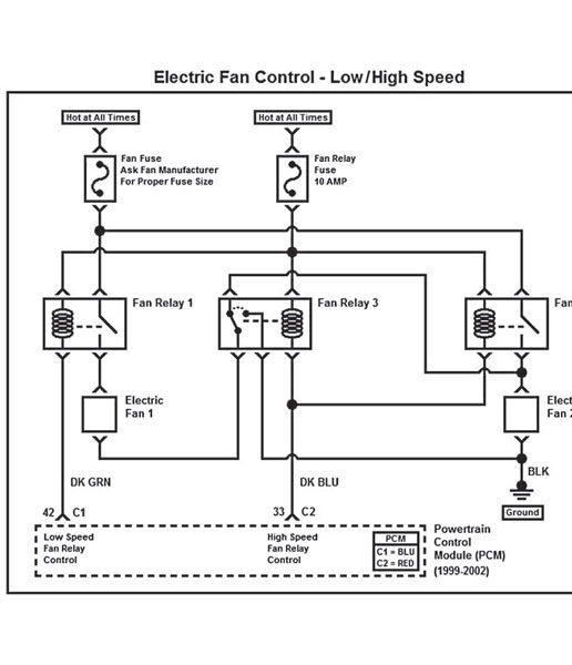 gm computer electric fan relay wiring diagram  pietrodavico