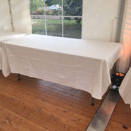 Table de buffet pliante