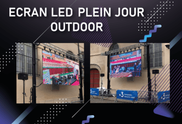 location ecran led plein jour outdoor