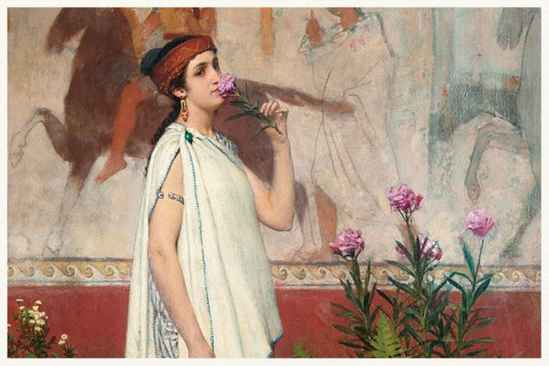 Greek Woman karya Lawrence Alma Tadema