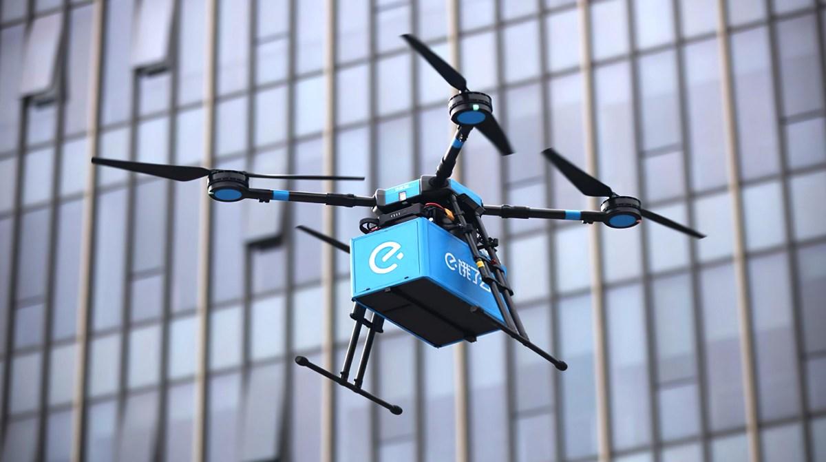 外賣科技再升級。如今「無人機」也能送餐! – LSH Food Service