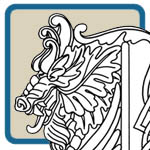 medieval, castle, dragon, wood spirit patterns by Lora S Irish