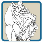 American Indian Line Art Patterns by Lora S Irish