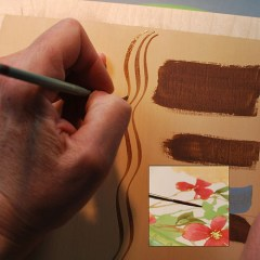 How to detail paint your relief carvings, free project by Lora Irish