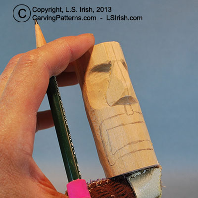 Tiki Chess Set, Beginner's Wood Carving Project by Lora S ...