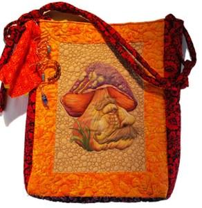 mushroom quilt pattern