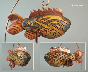 Indian Fish Decoy