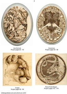 Styles of Pyrography by Irish