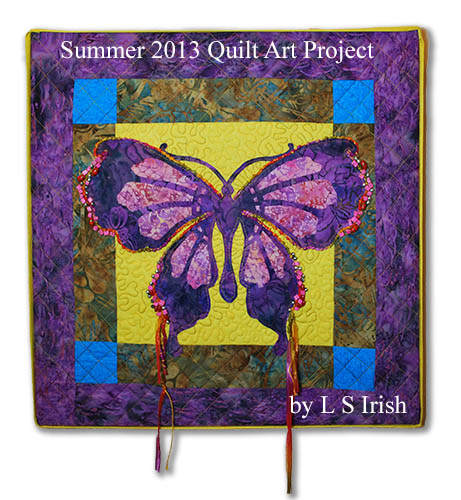 Free Fretwork Butterfly Quilt Project by Lora Irish