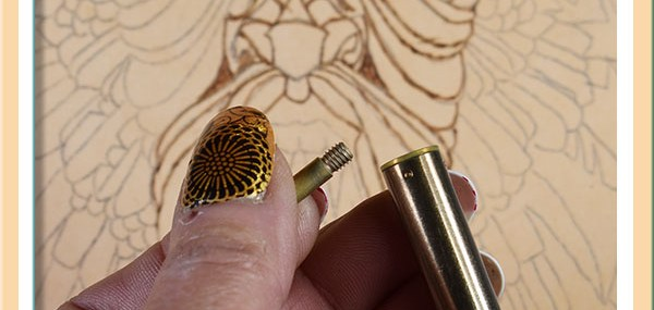 Leather Pyrography Projects