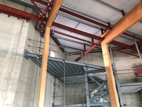 secondary structural steel manufacture by LSJ Engineering, Essex