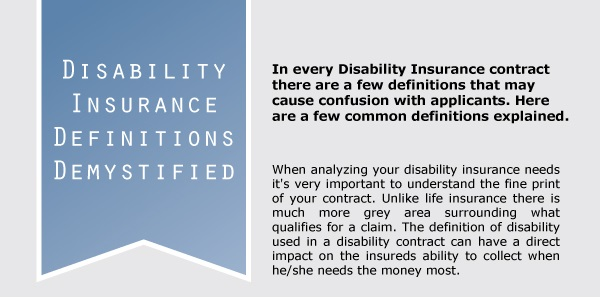 Infographic Disability Insurance Demystified Life Insurance Canada