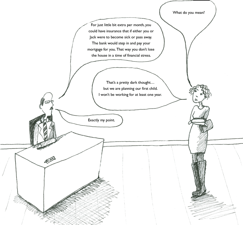 The Perils of Mortgage Life Insurance: An Insurance Comic