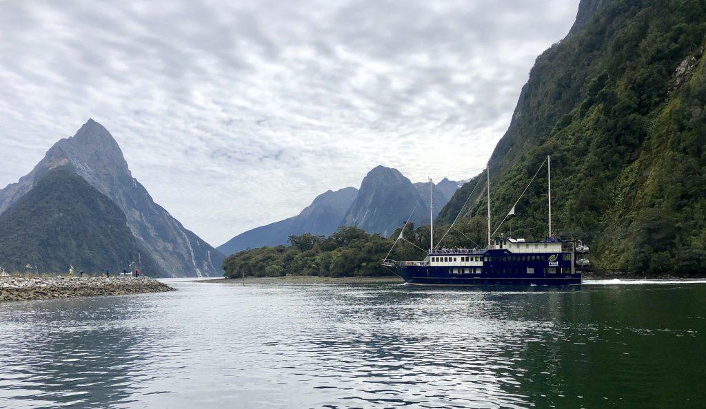 Milford Sound cruise view, Fiordland, New Zealand