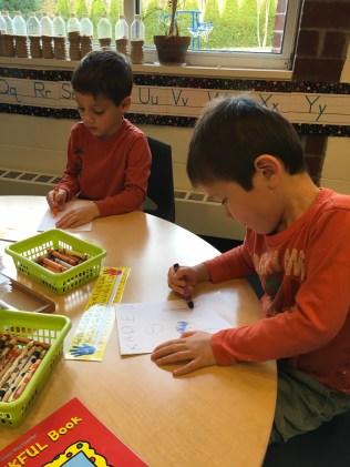 Preschool 4 Nicholas_Kaden writing
