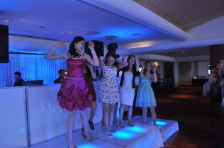 Bat Mitzvah Stages and Lighting