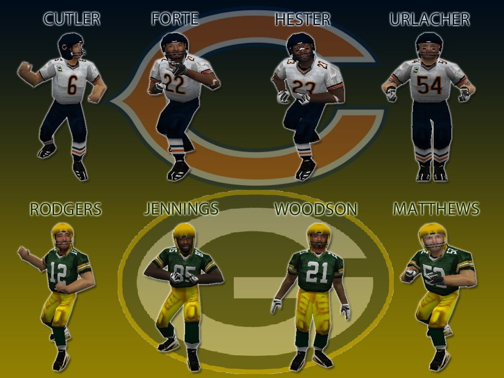 Bears & Packers Models