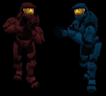 Halo Models ( Red vs Blue)