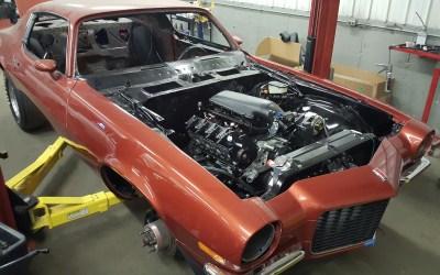 71 Camaro Rebuild