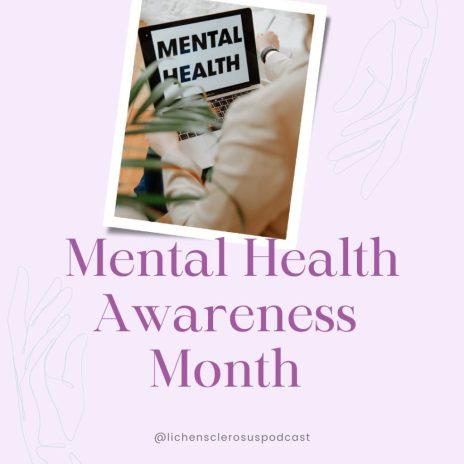 Mental Health Awareness Month image.