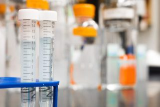 Image of medical tubes and testing devices representing a large chunk of Lichen Sclerosus Research that focuses on treatments.