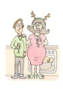 Dilemma 2: Your boyfriend's mother is being passive-aggressive... Illustrations by Jackie Evangelisti