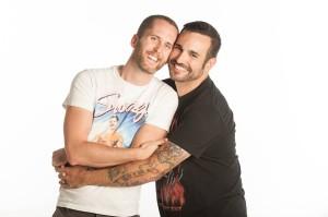 VandenAvond, left, and his boyfriend, Nathan Garcia. Photo courtesy of Benny VandenAvond