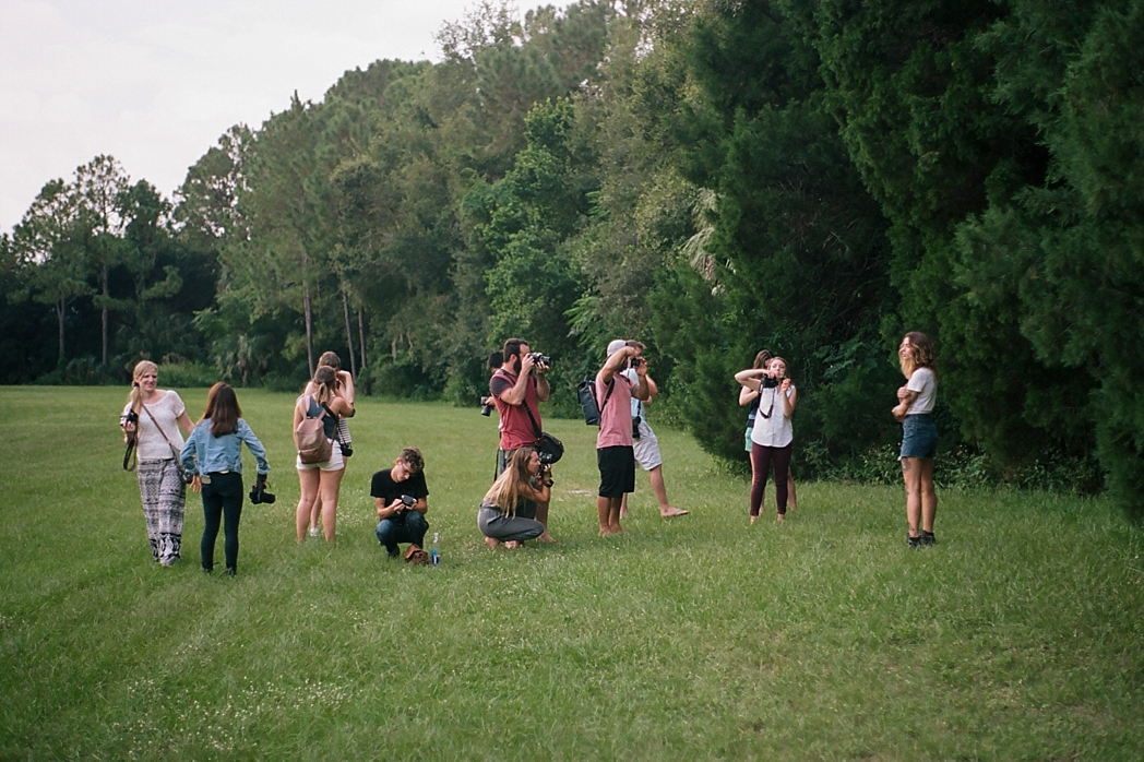Florida Film Takeover Philippe Park Safety Harbor Tampa Portrait Photography