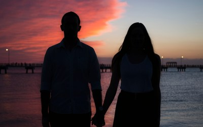 Florida Film Takeover | Ft Desoto, Florida | Couple Film Photography