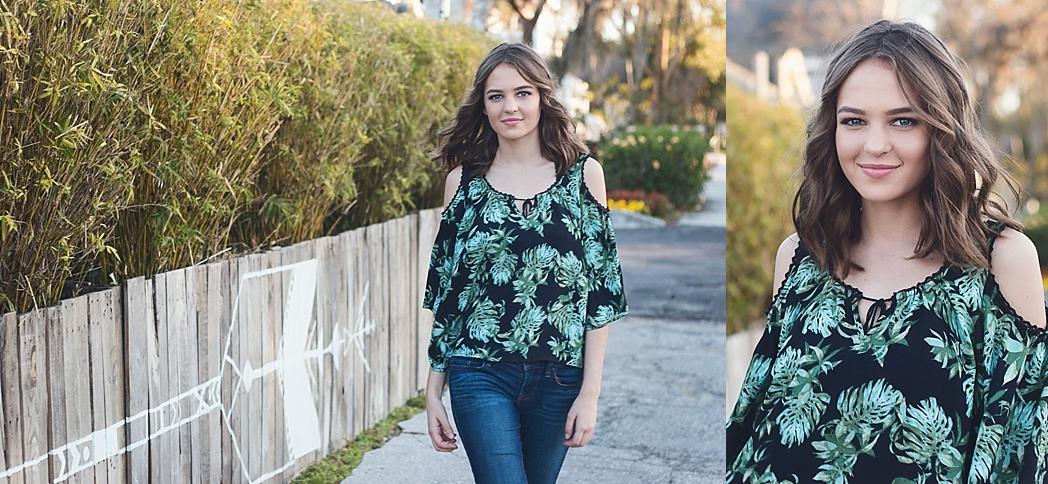 Tampa Lakeland Senior Photography