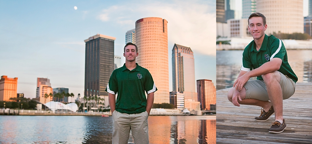 UT Downtown St Pete Tampa Bay Senior Photography