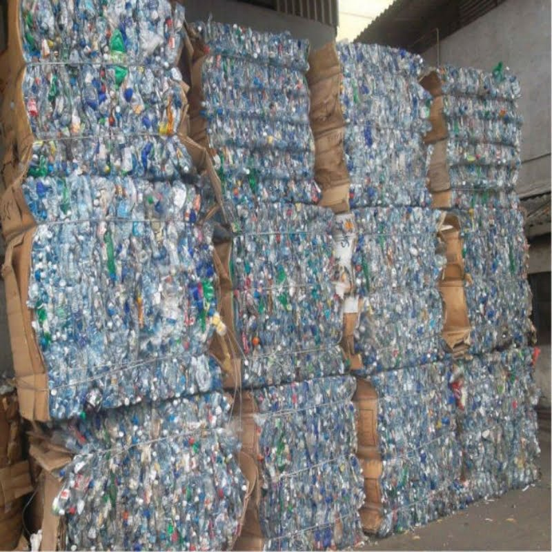 PET Bottle Scrap Wholesale, Plastic Scrap For Sale Online which are 100% Clear PET Scrap. We Supply Green, Blue and Clear Plastic Scrap in Bales good rate.