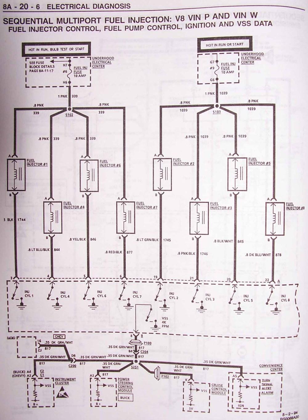 medium resolution of 1995 impala ss caprice roadmaster wire harness info