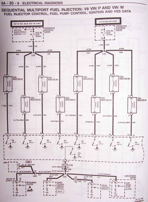 small resolution of 1995 impala ss caprice roadmaster wire harness info