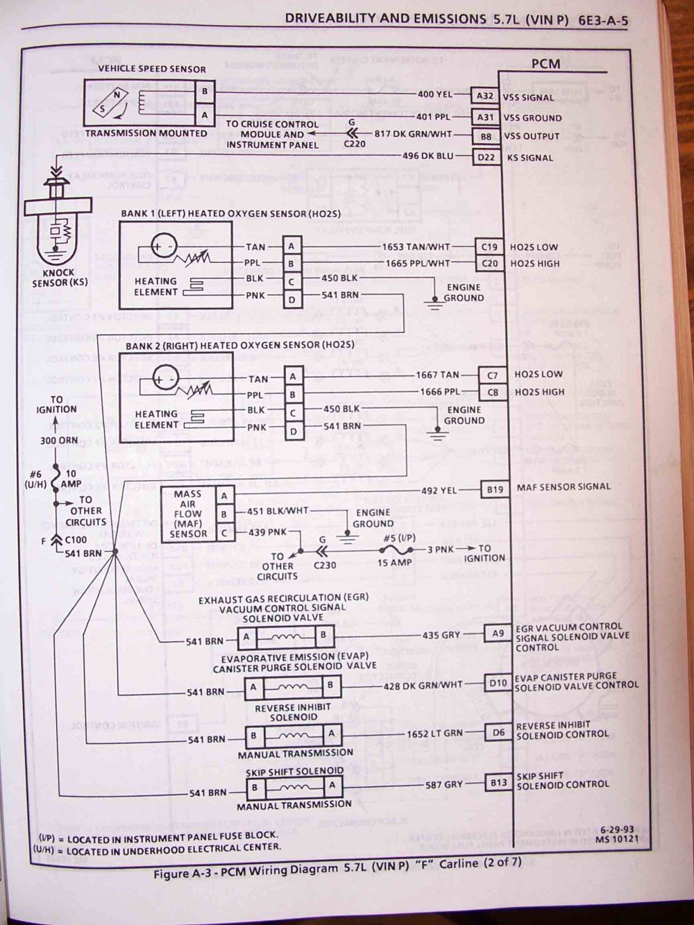 medium resolution of 1995 f body wire harness schematics 1994 firebird wiring harness location