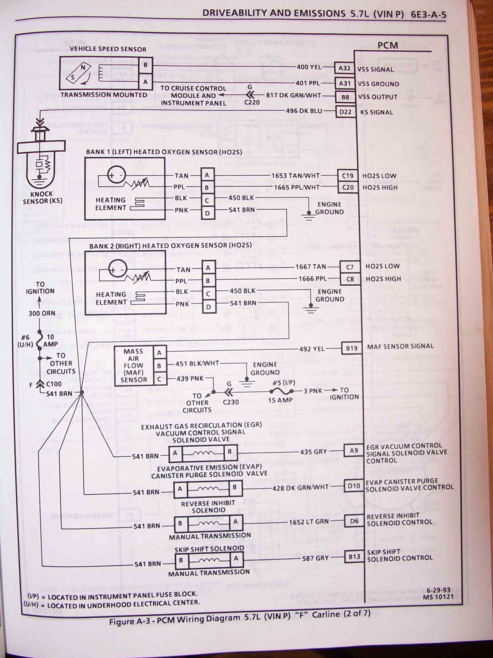 hight resolution of 1995 f body wire harness schematics 1994 firebird wiring harness location