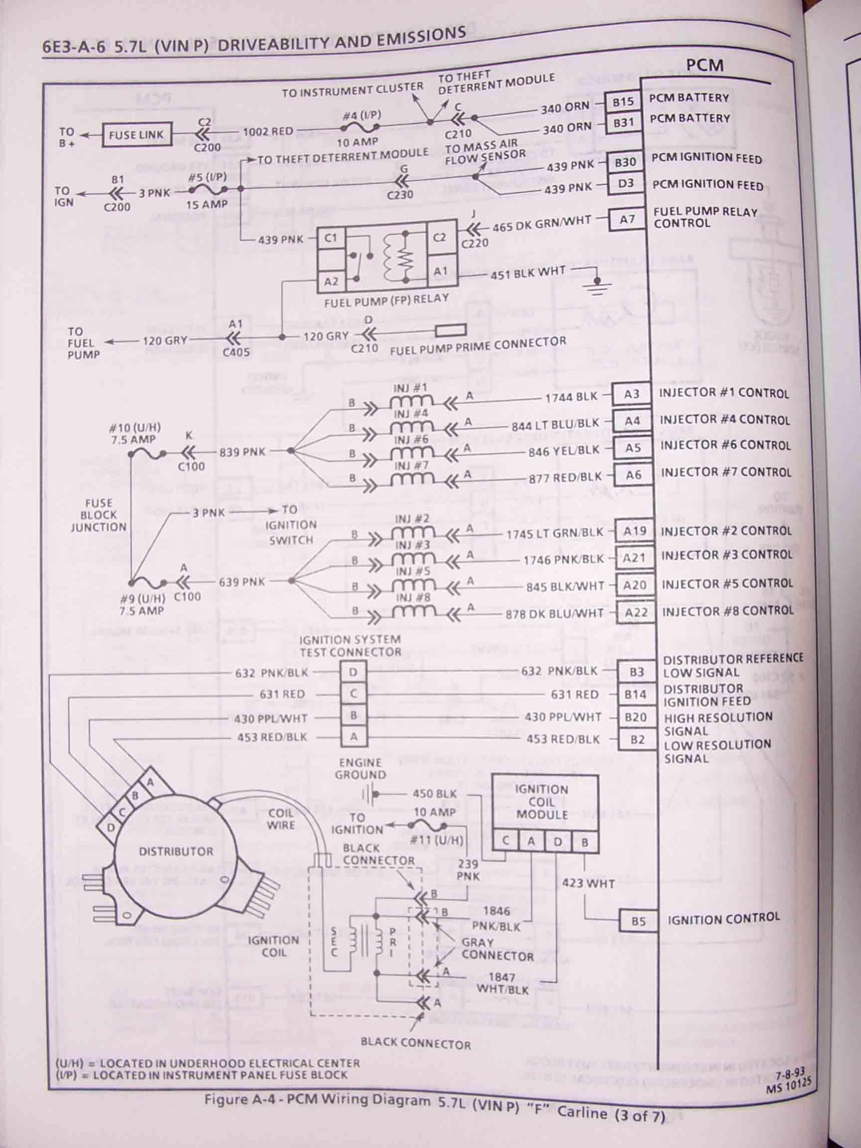 Lt1 Wiring Harness Schematics : Chevy lt engine diagram vacuum wiring