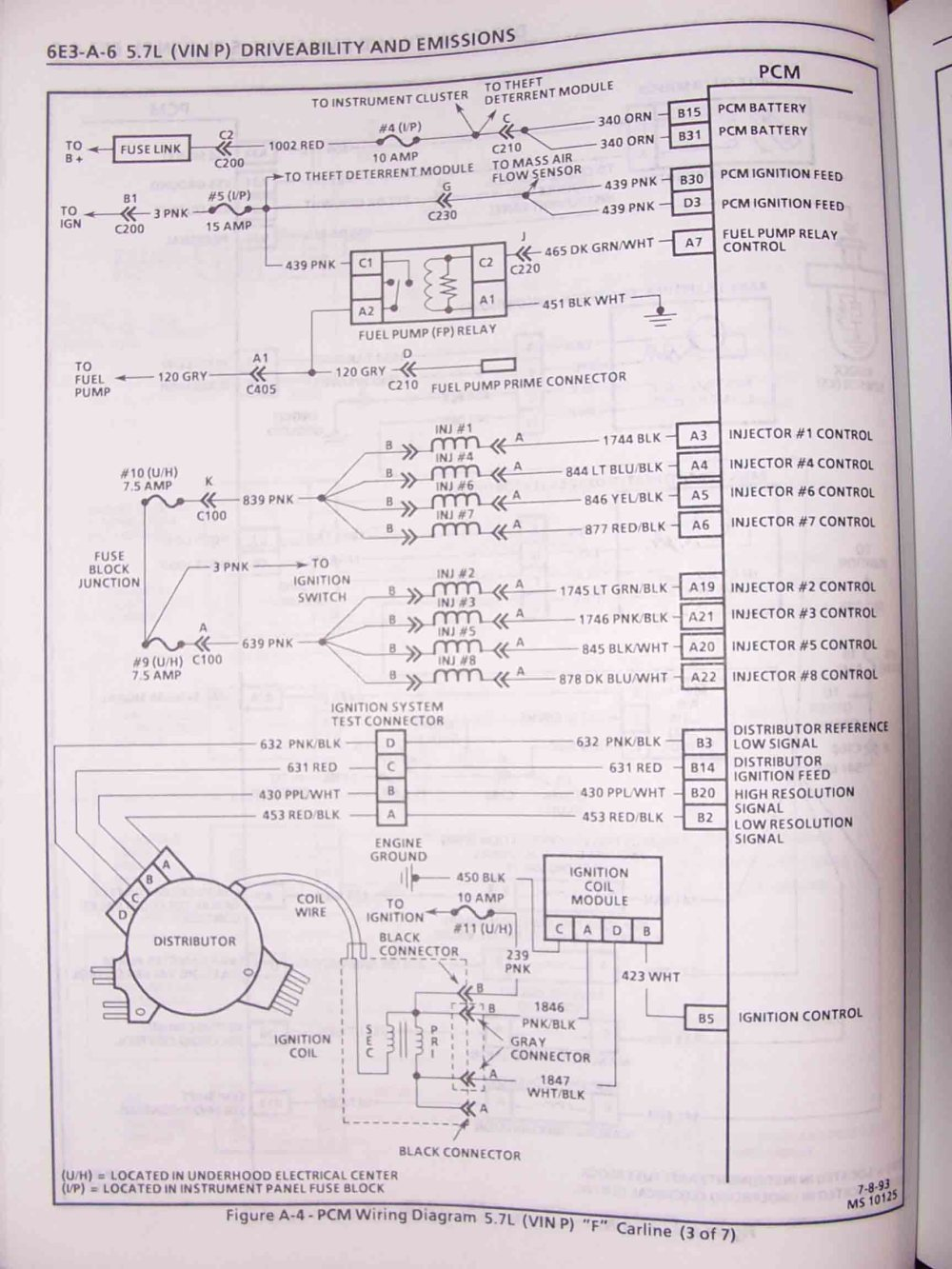 medium resolution of 1995 f body wire harness schematics 1997 camaro lt1 wiring