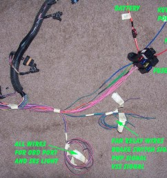 1995 impala ss caprice roadmaster wire harness info rh lt1swap com 1963 impala electrical diagram wire [ 1200 x 900 Pixel ]