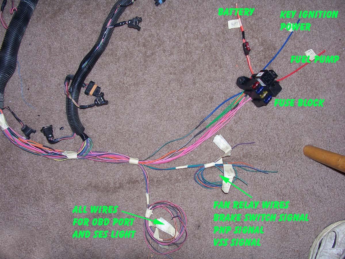 lt1 swap wiring diagram kenwood kdc x595 caprice harness get free