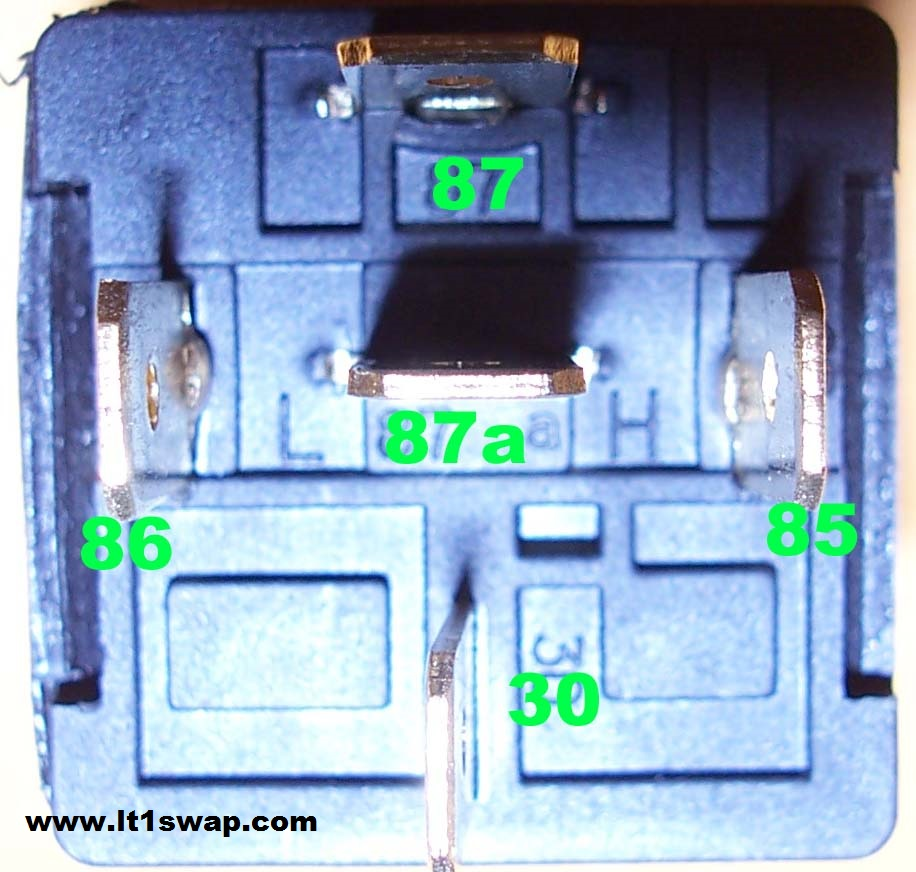 medium resolution of here are some pictures of a typical automotive relay that can be found at most parts stores