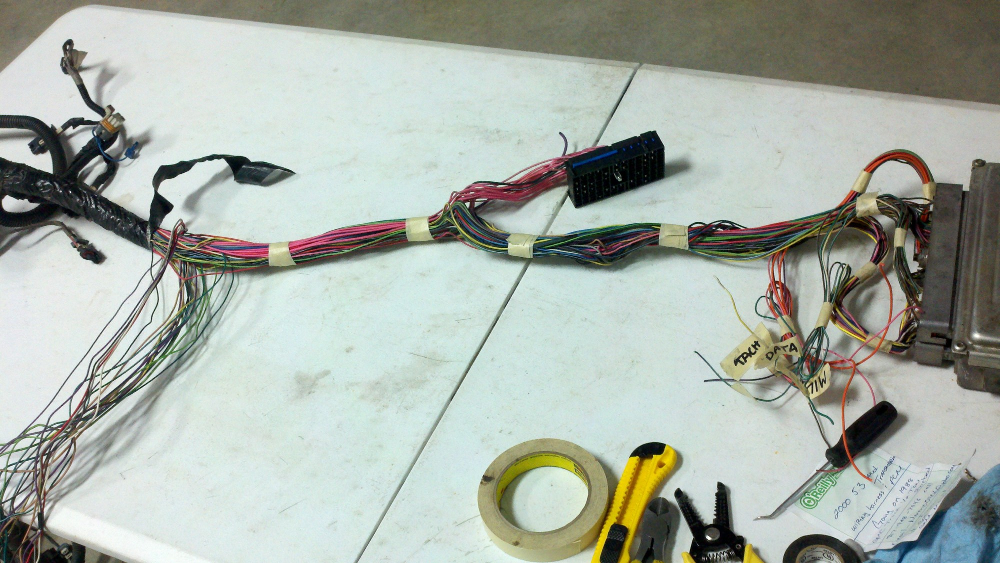 hight resolution of vortec 4 8 5 3 6 0 wiring harness info ls1 swap harness and continue with
