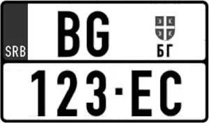 Nove registarske tablice Srbije-Ltablice.com