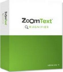 אריזת תוכנת הגדלה ZoomText
